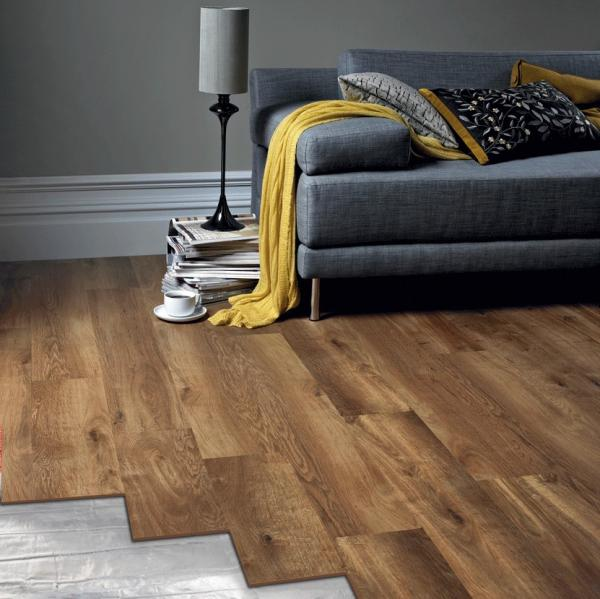 foil underfloor heating wood flooring